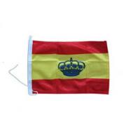Bandera España con corona ( 30 x 20 cm.)
