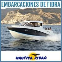 Embarcaciones de Fibra